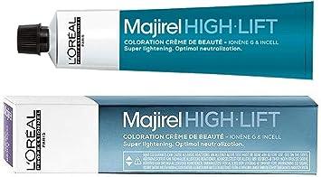 Loreal Majirel High Lift HL Ash - Tinte para el cabello (1 unidad, 50 ml), color ceniza