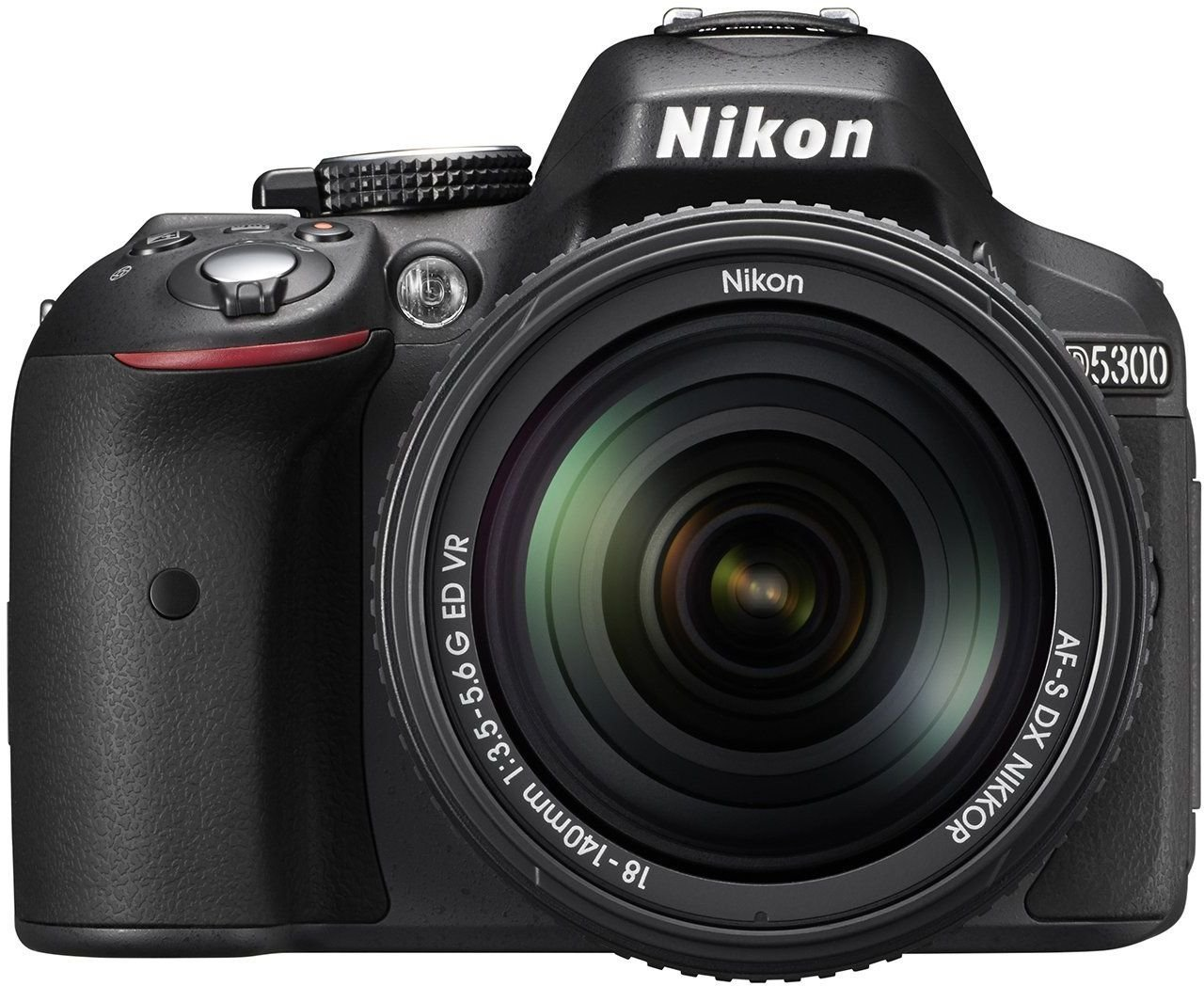 Nikon D5300 24.2MP Digital SLR Camera (Black) with 18-140mm