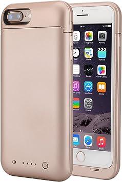 iPhone 7 Plus 8 Plus Caja de la batería, 7000 mAh batería Externa ...