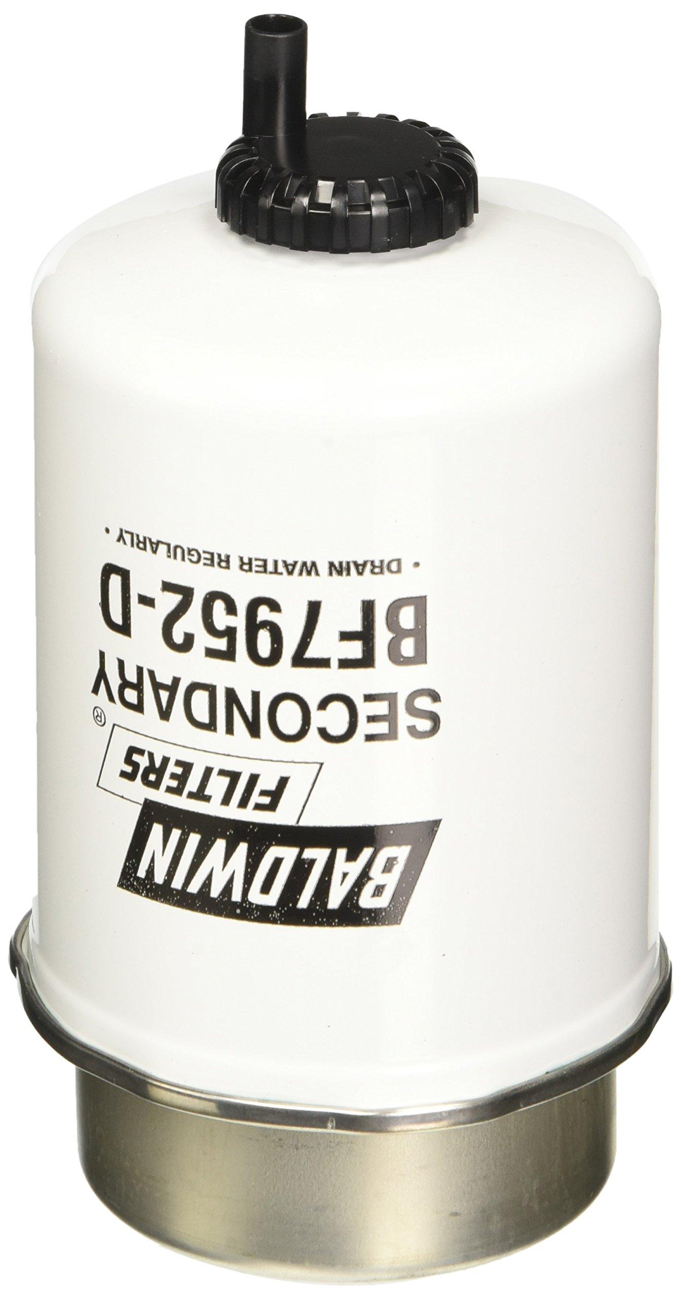 Baldwin Heavy Duty BF7952-D Fuel Filter,6 x 3-1/2 x 6 In