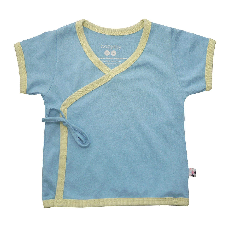 Babysoy Unisex-Baby Kimono Tee 90088