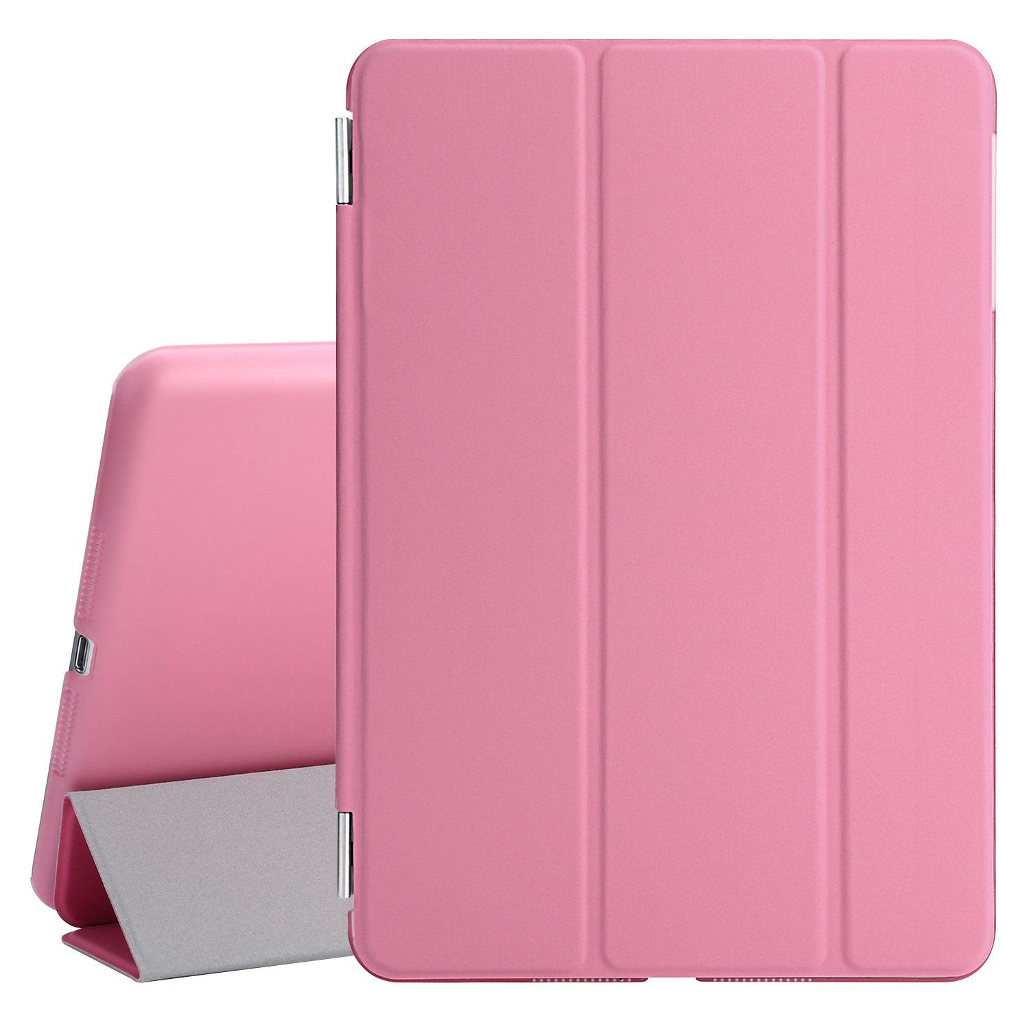 Screen Protector Cleaning Cloth PT2604 Pink Besdata Ultra Thin Magnetic Smart Cover /& Back Case For Apple iPad 2 // iPad 3 // iPad 4 Stylus