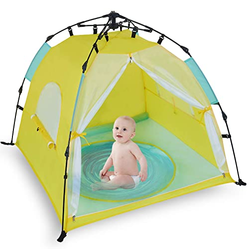 Bend River Automatic Instant Baby Tent with Pool