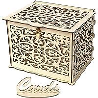 Weehey Caja de Tarjeta de Boda con Cerradura