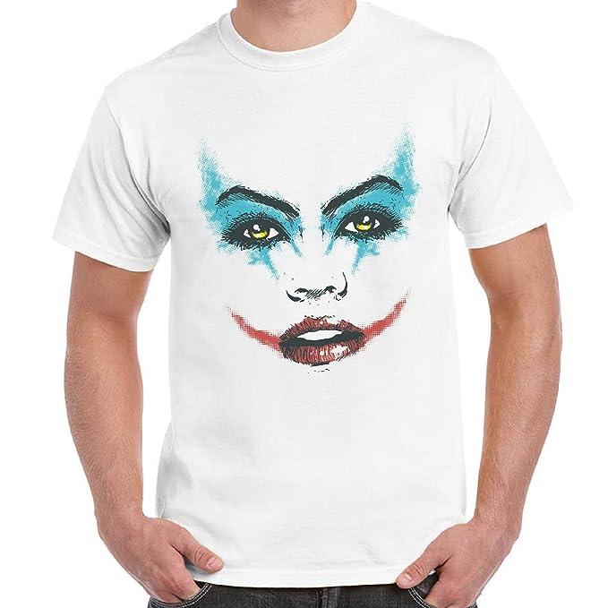 Chemagliette Maglietta Uomo Fashion T Shirt Manica Corta Viso