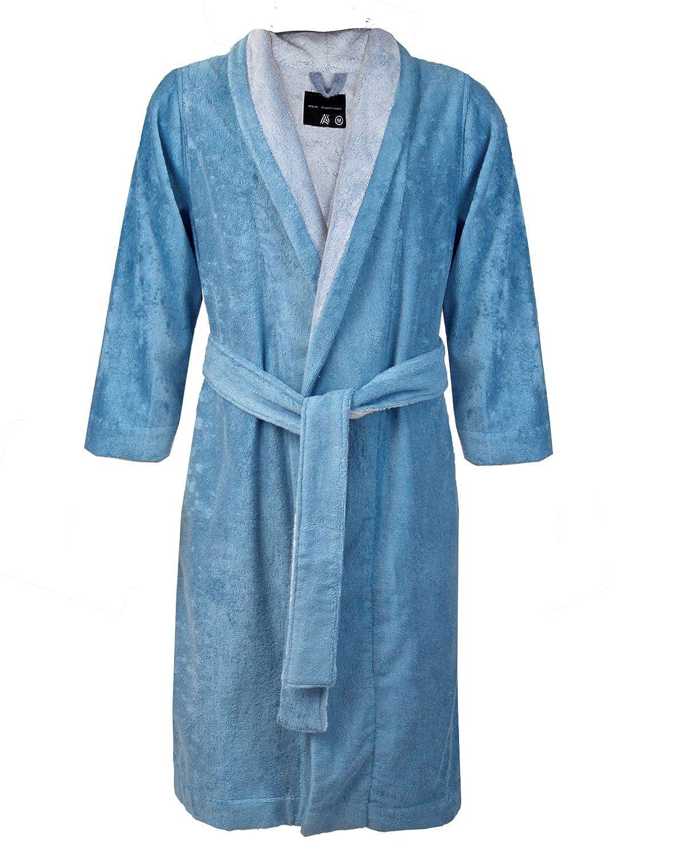 2ba055c066 Amazon.com  Armani International Bi-face Robes Set Egyptian Cotton-Modal