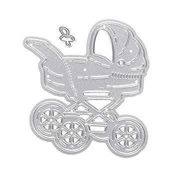 display08 bebé cochecito de bebé Chupete plantillas de corte ...