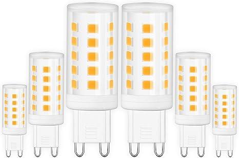 G9 Led Glühbirne 40W Halogenlampe Ersatz G9 Base Bi Pin