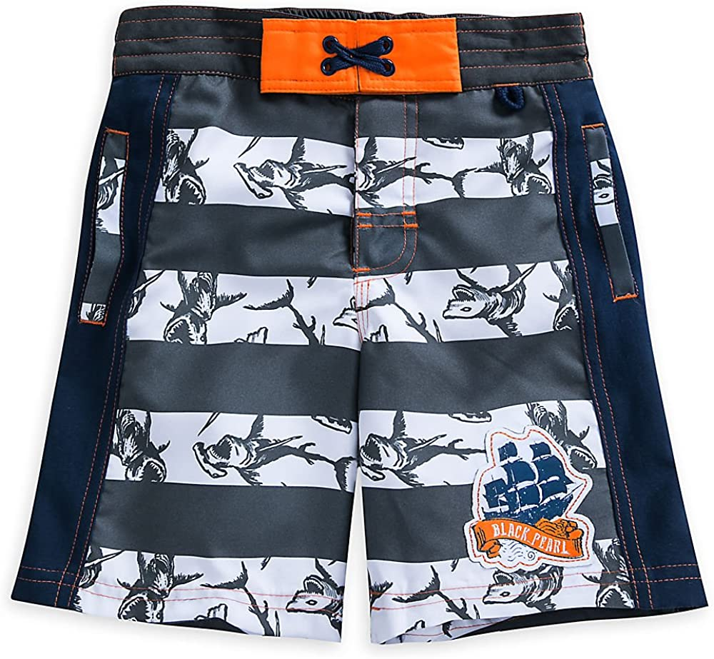Disney Pirates of The Caribbean: Dead Men Tell No Tales Swim Trunks for Boys