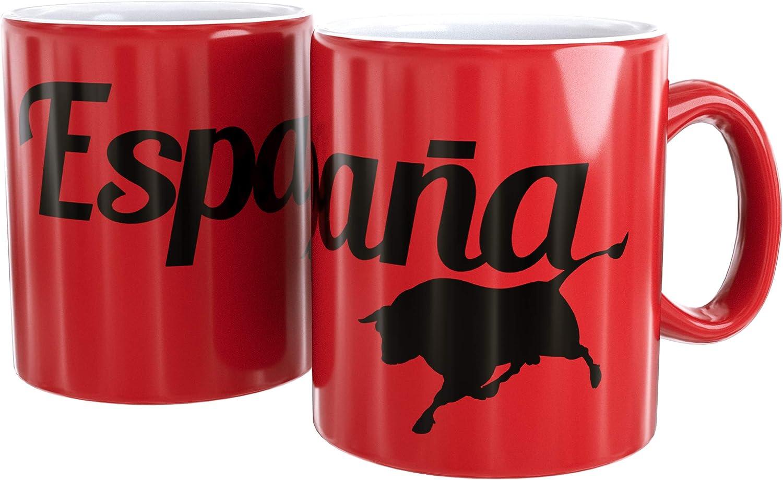 Mug Cerámica Logo Negro Toro España: Amazon.es: Bebé