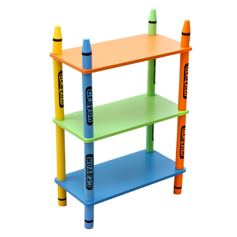 Bebe Style de los niños de madera 3estantes niveles _ P verde CR3TS