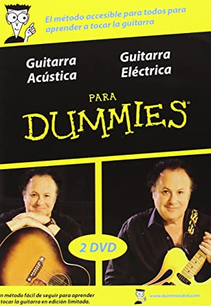 Para Dummies: Guitarra Acústica + Guitarra Eléctrica DVD: Amazon ...