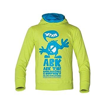 c63754a114e80f ABK Yeah Slim Sweat Sweatshirt Damen, Grün (Carambole), XXS: Amazon ...