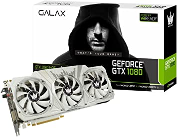 Amazon.com: Galax NVIDIA GeForce GTX), GF PGTX1080/8GD5 HOF ...