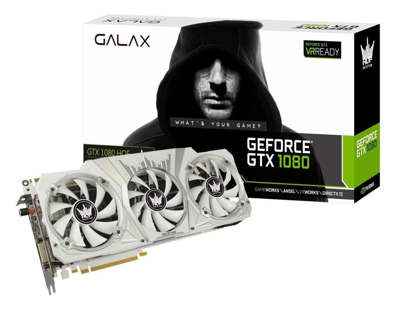 GALAX 80NSJ6DHL2SH GeForce GTX 1080 8GB GDDR5X - Tarjeta ...