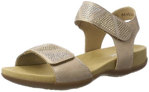Rieker Kinder K2269, Girls' Wedge Heels Sandals, Pink (Rose/31)