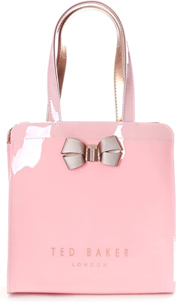 b9ea0ff8c68 Ted Baker Kriscon Women's Bow Detail Small Icon Bag PALE PINK ONE ...