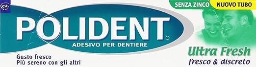 2 opinioni per Polident- Adesivo per Dentiere, Fresco & Discreto