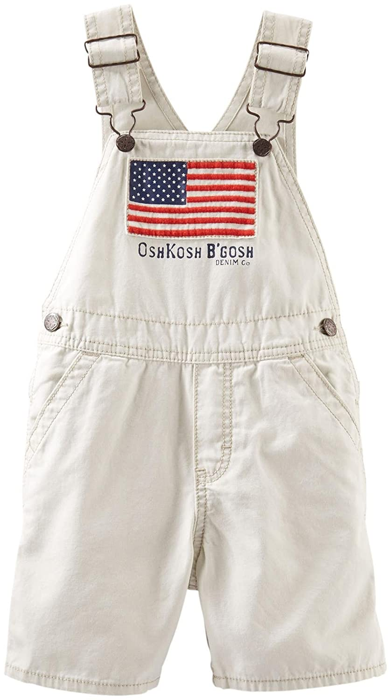 OshKosh Bgosh Baby Boys Flag Shortalls Baby