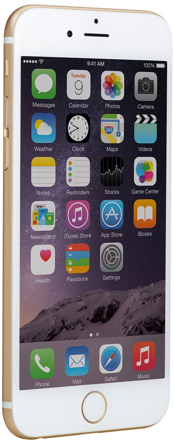 Apple Iphone 6 Gsm Unlocked 16gb Gold Bonus Sahara 64gb Grey Case Clear With Tempered Glass Screen Cell Phones Accessories