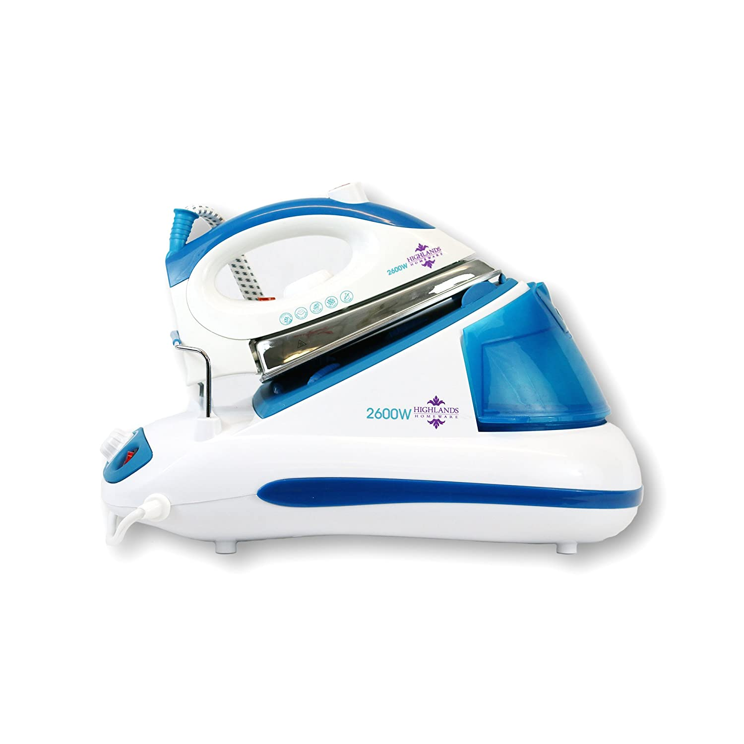 HIGHLANDS IRON20 2600W POWER STEAM GENERATOR IRON STAINLESS STEEL