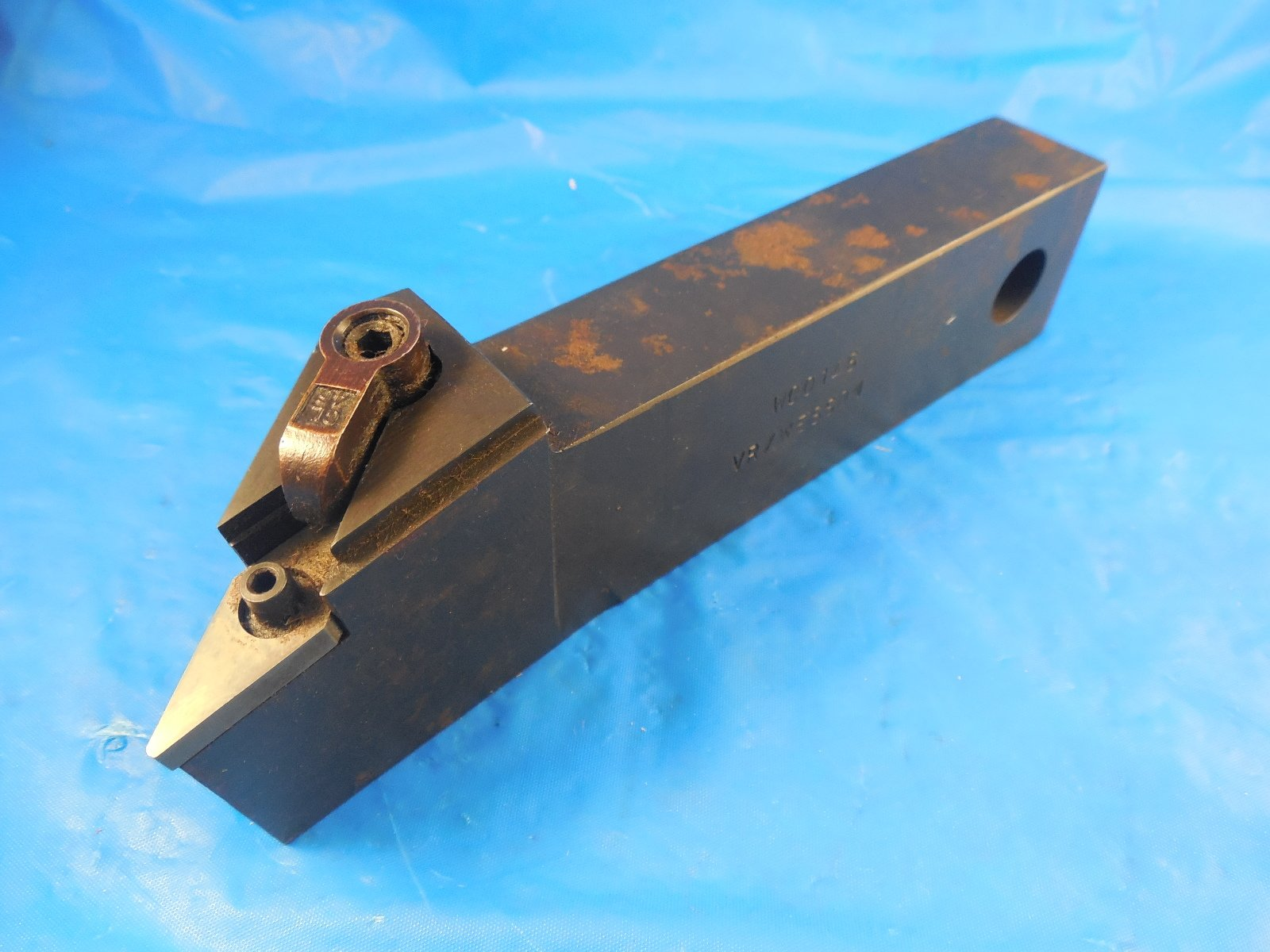 UNUSED USA MADE 1 1/2 TALL 1'' WIDE CNC TOOL HOLDER HOLDS VNMG 431 432 INSERTS