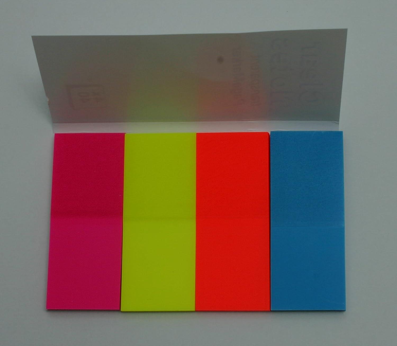 Index Marker 50x20 mm 4x 40 Blatt Folie sortiert Sonstige