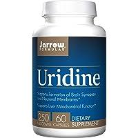 Jarrow Formulas Uridine, Supports Brain, Memory, Liver Health, 250 Mg, 60 Caps