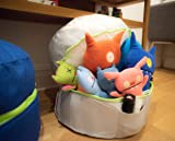 mimish Ultra Cozy Bean Bag Pouf - Toy and Stuffed