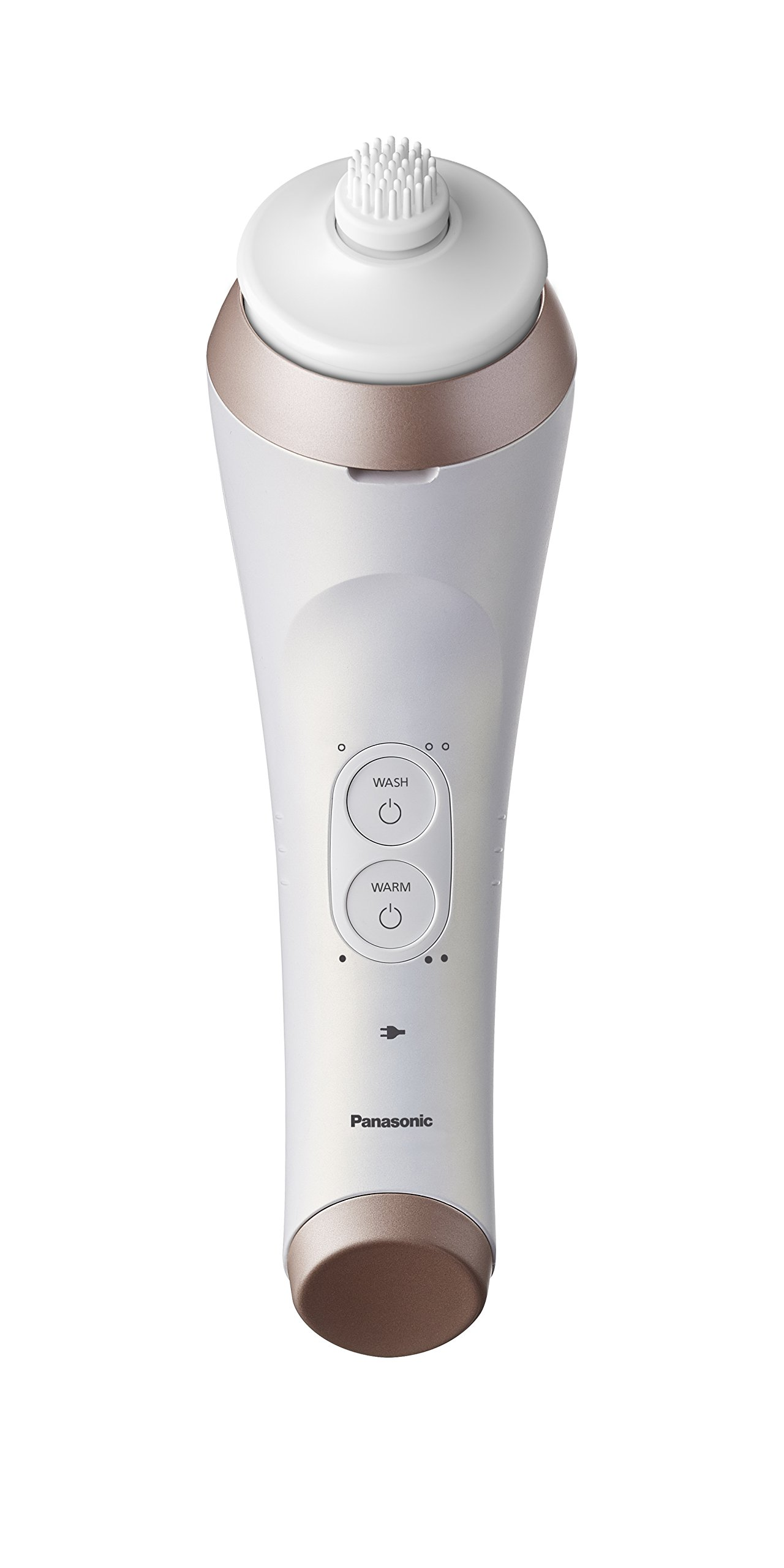 Panasonic EH-XC10-N Micro-Foaming Facial Cleansing Brush with Warming Makeup Removal Plate, 20.16 Ounce by Panasonic (Image #3)