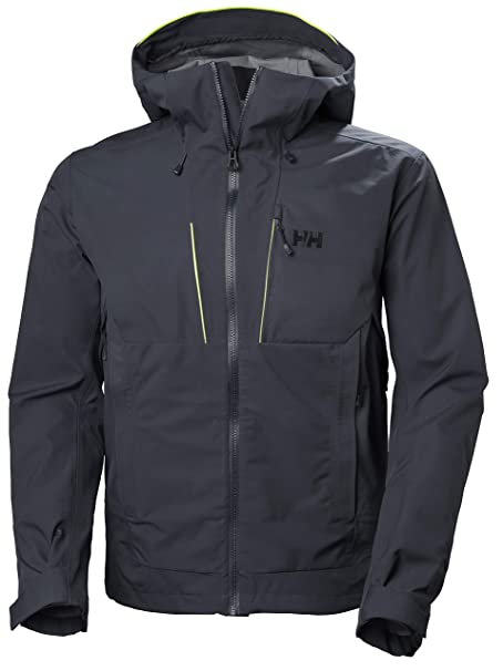 Amazon.com: Helly Hansen 65596 Alpha Shell - Chaqueta para ...