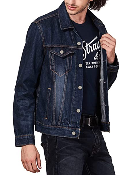 DEMON&HUNTER 500X Series Hombre Denim Chaqueta