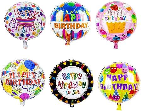 Amazon.com: Sharlity - Globo de helio de feliz cumpleaños ...