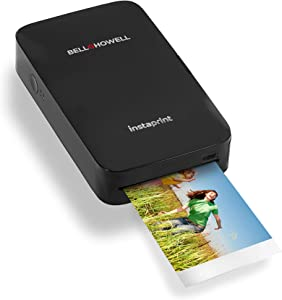 Bell+Howell instaprint Bluetooth Mobile Printer (Charcoal)