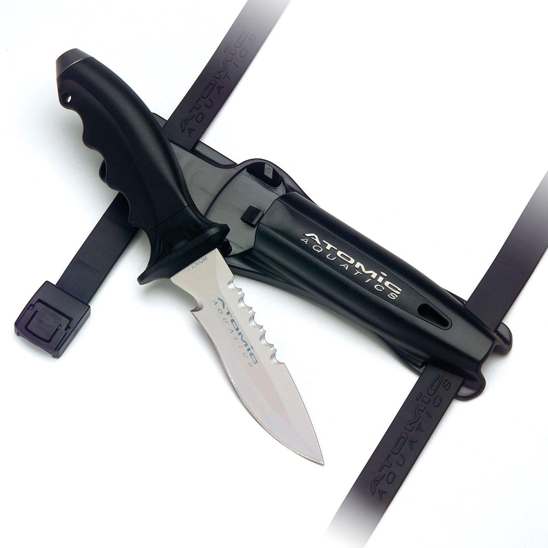 Atomic Ti6 Titanium Knife - Point Tip