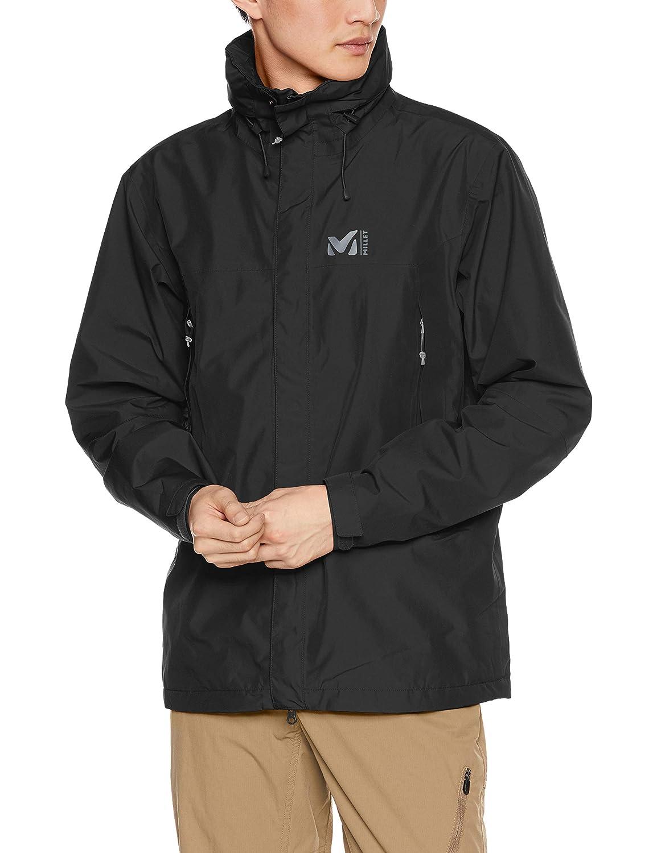 [ミレー] 登山用防水透湿ジャケット GRANDS MONTETS GTX JKT M(グランズ モンテッツ ゴアテックス) メンズ 黒 - NOIR EU M (日本サイズL相当)
