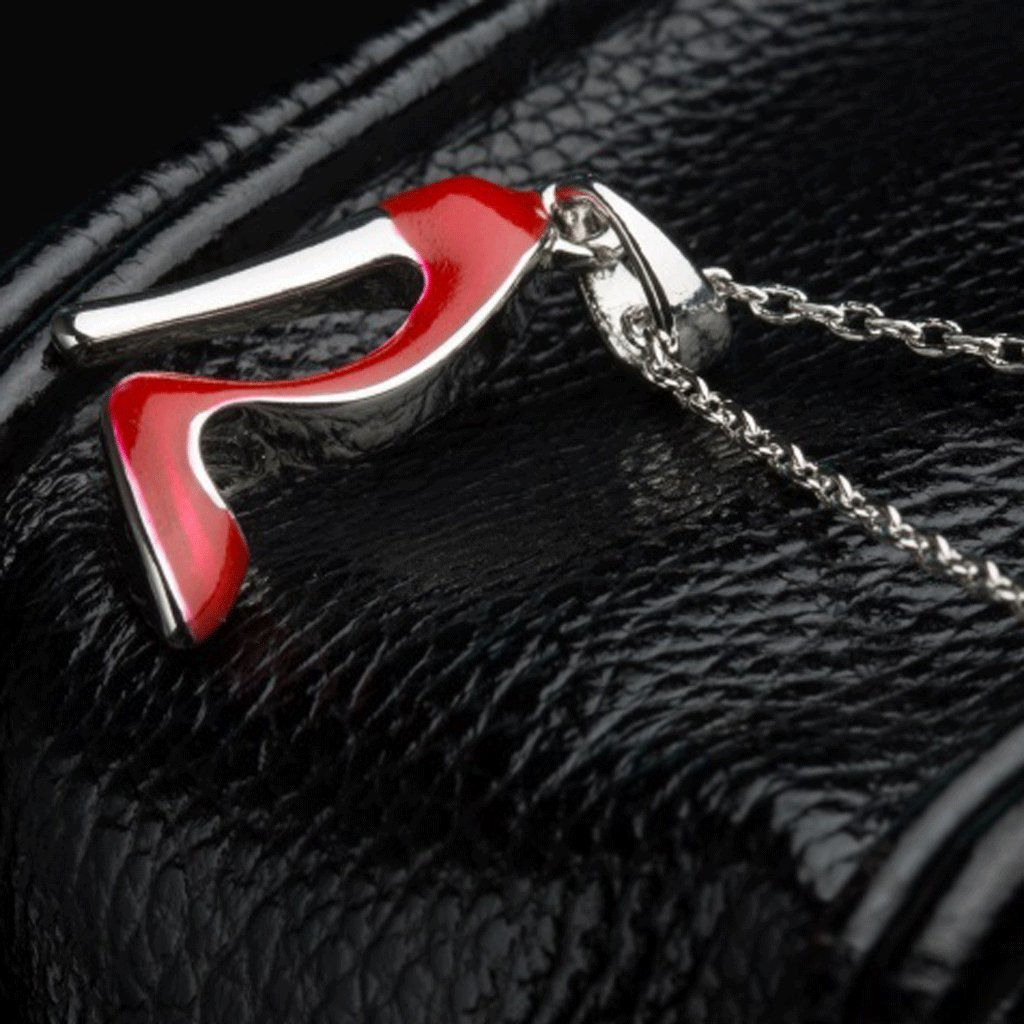 Generic Fashion Women Ladies Red High Heel Shoe Pendant Chain Necklace Jewelry Gift