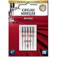 Órgano Agujas # 80/12Agujas de Jersey X 5
