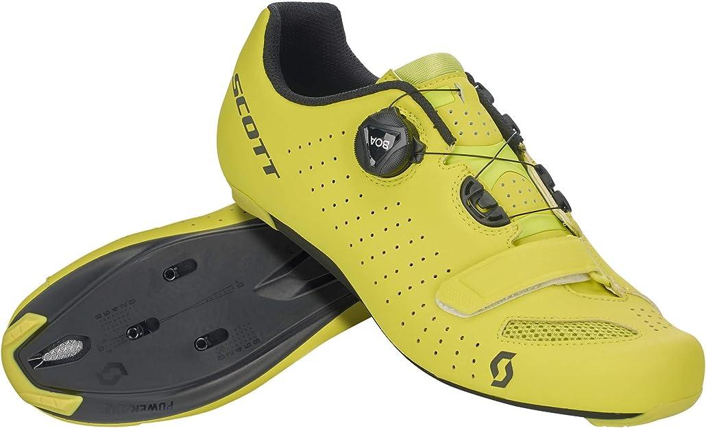 SCOTT Road Comp Boa 2020 - Zapatillas para Bicicleta de Carreras, Color Amarillo: Amazon.es: Deportes y aire libre
