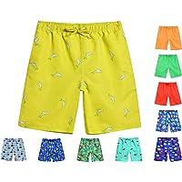 DECKTIN Boys Swim Trunks Quick Dry Beach Board Shorts Kids Swimwear