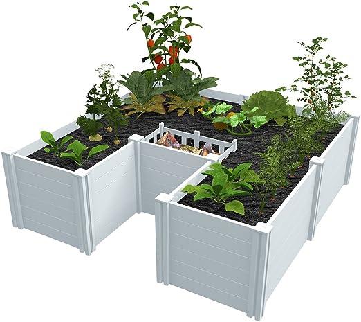 Amazon Com Vita Gardens Vt17107 6x6 Composting Raised Garden Bed