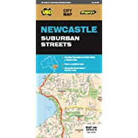 Newcastle Suburban Streets Map 280 18th ed