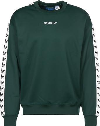 adidas blanc et vert pull