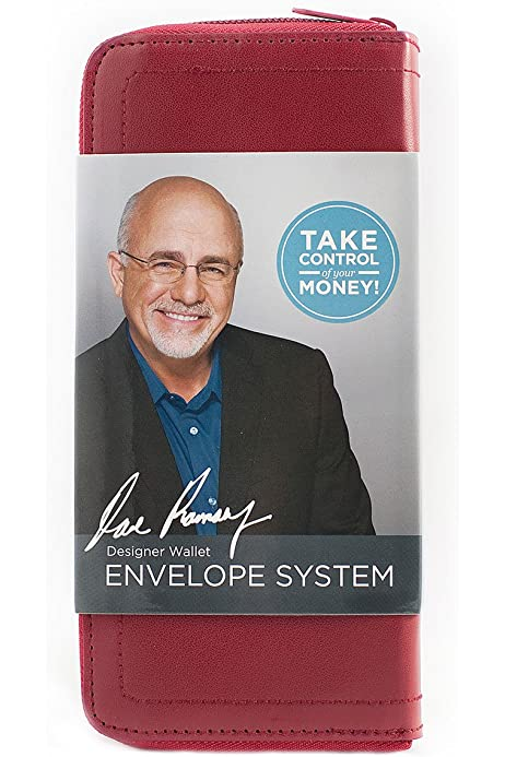 Red Designer Wallet Envelope System Dave Ramsey S Financial Peace University Ramsey Dave 9781937077525 Amazon Com Books