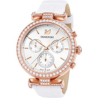 2a1bdd342 Swarovski Era Journey Ladies Watch - White - 5295369: Amazon.co.uk: Watches