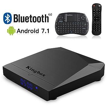 Kingbox 2018 K3 Android 7.1 TV Box S912 Octa Core 2GB RAM+16GB ROM/