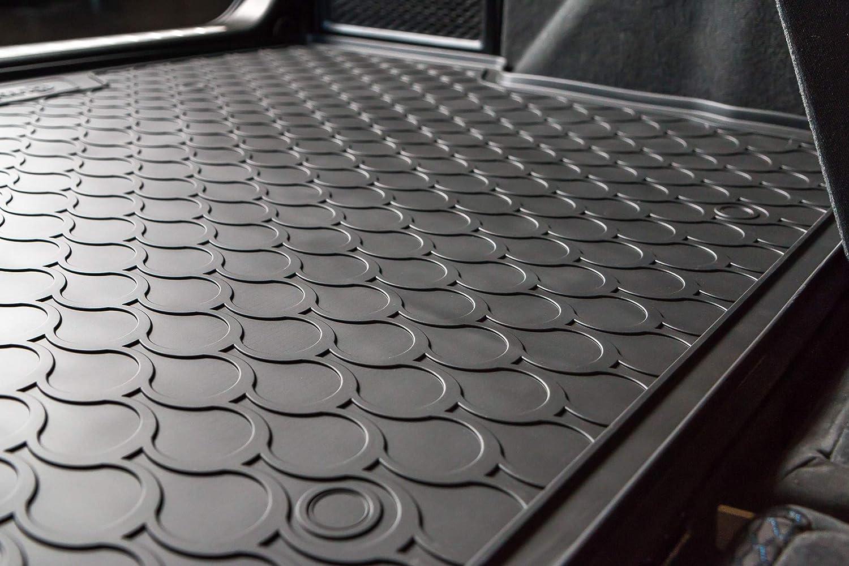 4 Pieces Just Carpets Tapis de Coffre sur Mesure pour Votre Touareg Ann/ée de Fabrication: 06//2018-2019 Qualit/é: Caoutchouc