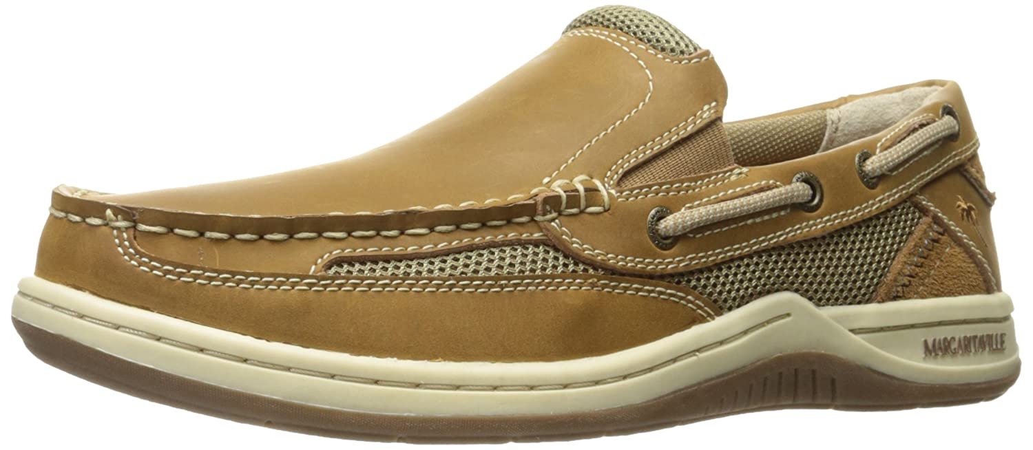 7a07196ad2 Amazon.com | Margaritaville Men's Anchor Slip On Boat Shoe | Loafers & Slip -Ons