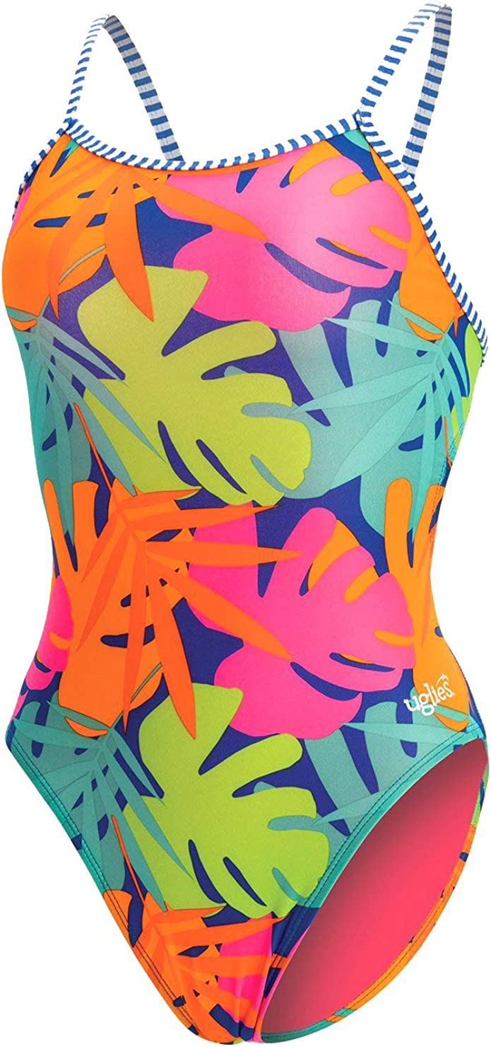 Dolfin Women's Uglies Prints Double Strap Back Swimsuit