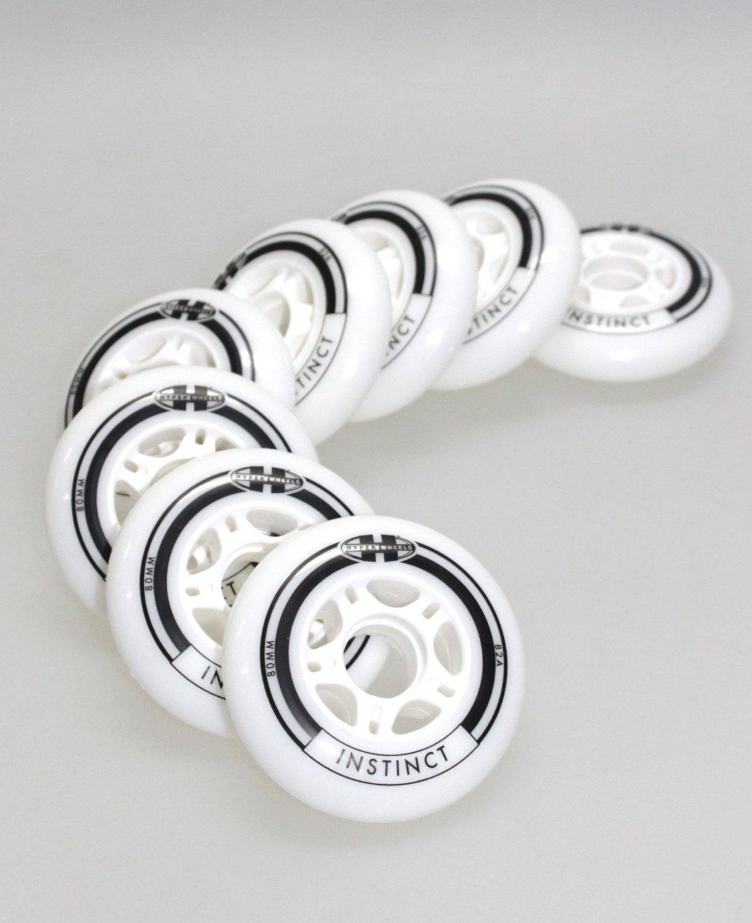 4/8er Set K2 Rollerblade Salomon Fila Roces Inliner Rolle HYPER Instinct Rolle 80mm/82a